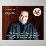 Quote #6 - Justice Antonin Scalia Poster