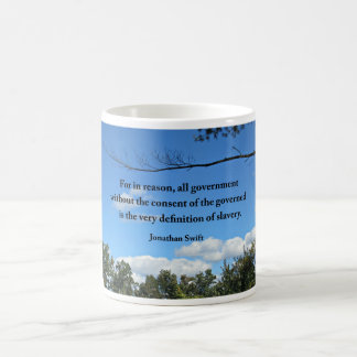 Quote about government, by Jonathan Swift Coffee Mug