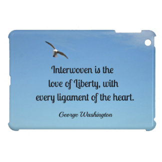 Quote about liberty, by George Washington iPad Mini Covers