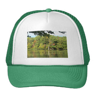 Quote about seasons by R.W. Emerson Trucker Hat