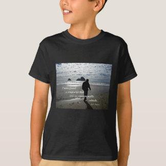 Quote about solitude by H.D. Thoreau T-Shirt