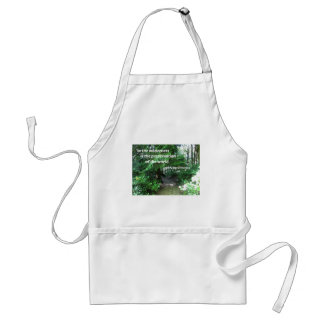 Quote about the wilderness by Thoreau Aprons