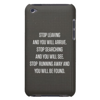 Quote Barely There iPod Case
