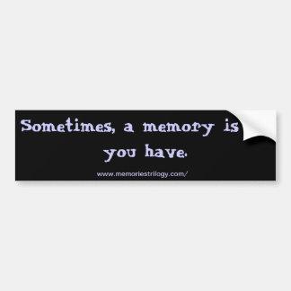 Quote Bumper Sticker