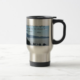 Quote by Galileo: You cannot teach a man anything Travel Mug