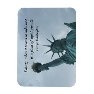 Quote by George Washington about liberty. Magnet