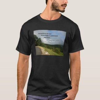 Quote by Henry David Thoreau about understanding. T-Shirt