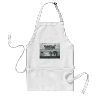 Quote by John Muir Adult Apron