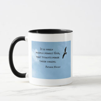 Quote by Patrick Henry about government Mug