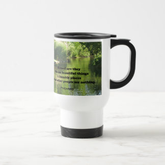 Quote by Pissarro: Blessed are they who see Travel Mug
