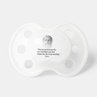 Quote By Plato BooginHead Pacifier