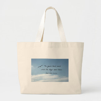 Quote by Ralph Waldo Emerson: The years teach much Canvas Bags
