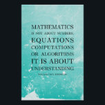 """Quote by Thurston - Math Posters<br><div class=""""desc"""">Quote by Thurston - Math Posters</div>"""