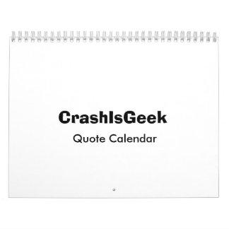 Quote Calendar 2008