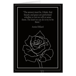 Quote Card- Annie Dillard Card