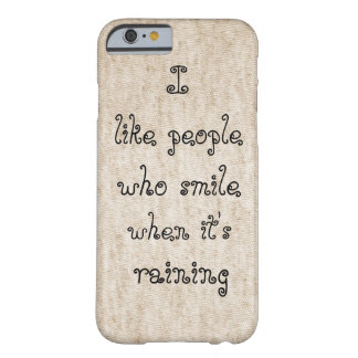 Quote Case Barely There iPhone 6 Case