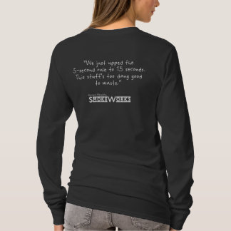 'Quote' Cook'n Shirt - 5-Second Rule