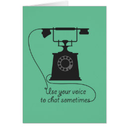 Quote design to encourage communication poster vie card
