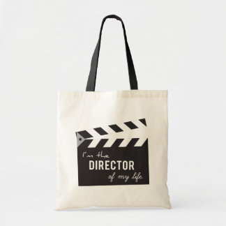 Quote, Director of my life, Action Board Tote Bags