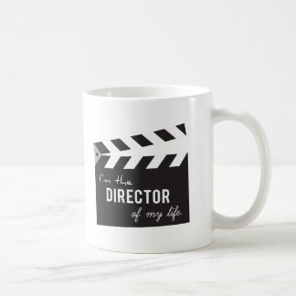 Quote, Director of my life, Action Board Coffee Mug