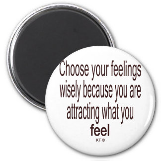 Quote for law of attraction magnet