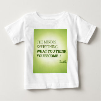 Quote from Buddha Baby T-Shirt