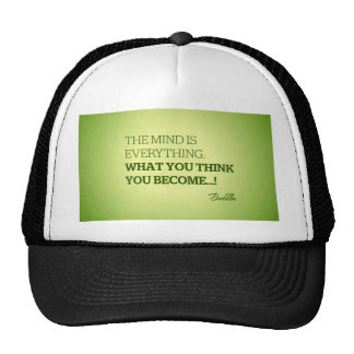 Quote from Buddha Trucker Hat