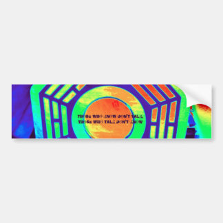 Quote from Tao Te Ching- Lao Tzu Car Bumper Sticker