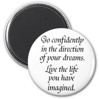 Quote gifts inspirational magnets inspiring dreams