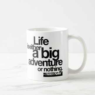 quote-keller-stiles* classic white coffee mug