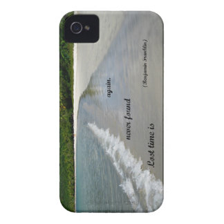Quote: Lost time is never found again. iPhone 4 Cover
