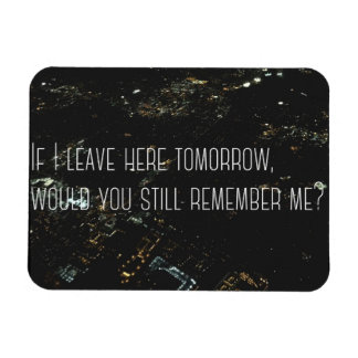 Quote Magnet, Free Bird, Love and Leaving Magnet