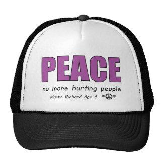 Quote Martin Richard Boston Massacre Trucker Hat