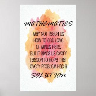 Math Posters, Math Prints & Math Wall Art