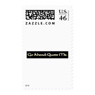 Quote me postage stamp