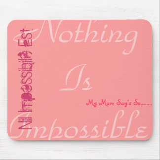 Quote Mousemat Mouse Pad