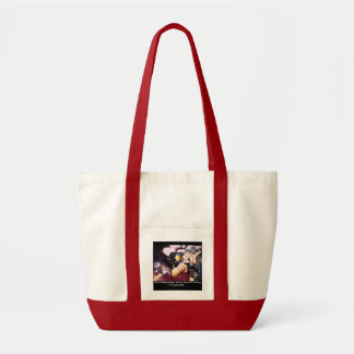 Quote of life canvas bag