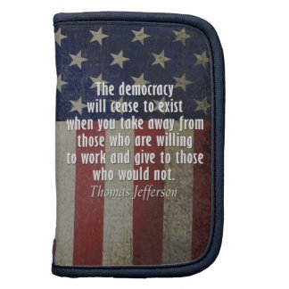 Quote on Democracy, Socialism and Taxes Organizers