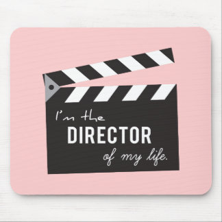 Quote on life, Director Action Board, Slate Mouse Pad