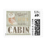 Quote | Owl Be At The Cabin Postage