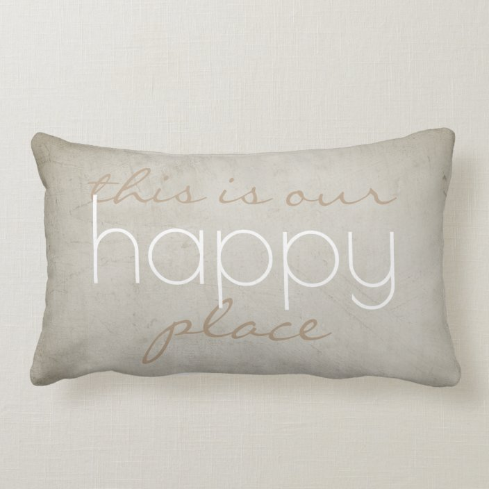 this is my happy place cushion online