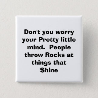 quote, pinback button