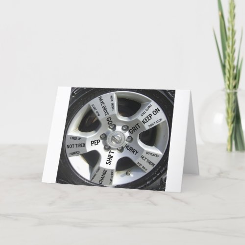 Quote Products for Car Lovers Card