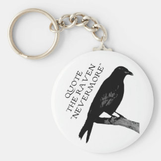Quote The Raven Key Chains