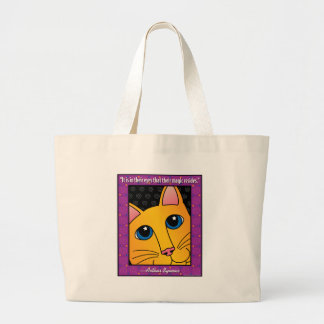 QuoteCat1 Canvas Bags