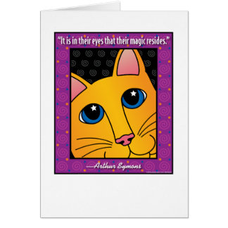 QuoteCat1 Greeting Cards