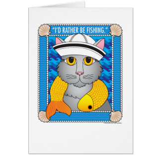 QuoteCat3 Greeting Card