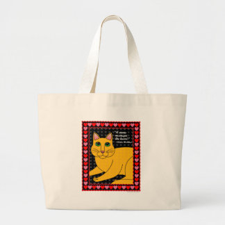 QuoteCat4 Canvas Bags