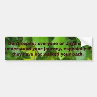Quoted Bumper Sticker #15 © Roseanne Pears 2014. Car Bumper Sticker