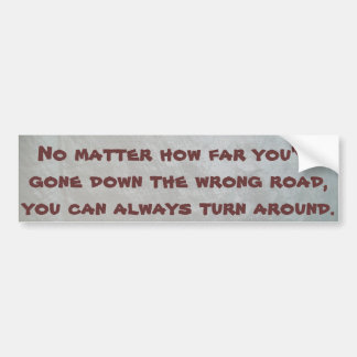 Quoted Bumper Sticker #2 © Roseanne Pears 2014